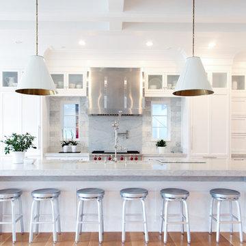 Light & Bright - Symmetrical Kitchen Design