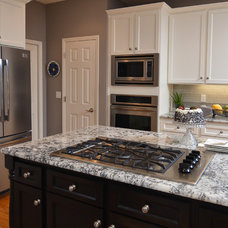 Transitional Kitchen by Mountainwood Homes