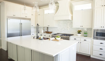 Light, Bright, and White Kitchen (A 2016 OKC Fall Parade of Homes project)