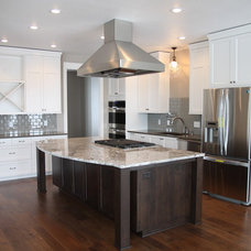 Farmhouse Kitchen by Vance Vetter Homes