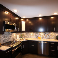 Contemporary Kitchen by Napoli Marble & Granite Design