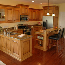 Traditional Kitchen by Custom Corners LLC