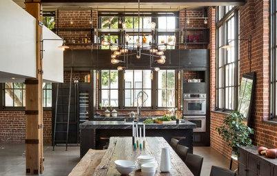 Photothèque : 51 cuisines industrielles pleines de caractère