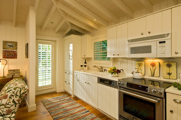 Ideas To Cover Sliding Glass Doors window coverings for sliding glass doors ok now i have to sell a kidney to Beach Style Kitchen By Ldl Interiors
