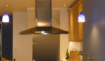 Lighting and Hood Vent in Victorian Style Kitchen