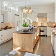 Transitional Kitchen by Butler Lighting of High Point