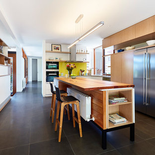 75 Most Popular Midcentury Modern Kitchen With Wood