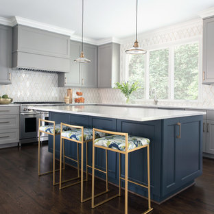 75 Beautiful Kitchen With Gray Cabinets Pictures & Ideas | Houzz