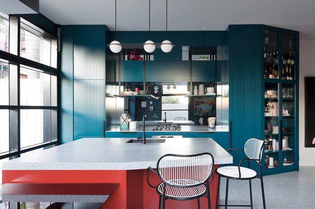 Mid-Century Küche by Woods & Warner