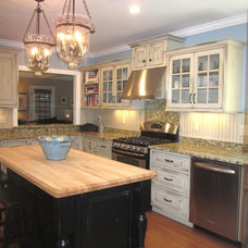 Traditional Kitchen Cabinetry by Miller's Fancy Bath and Kitchen