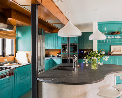 a a kitchen cabinets turquoise countertop ideas pictures remodel and decor 10404