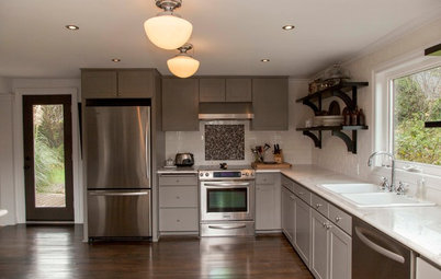 My Houzz: Salvage Meets Chic in an Oregon Fixer-Upper