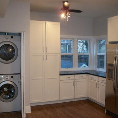 Washer And Dryer In Kitchen Design Ideas, Pictures, Remodel and Decor
