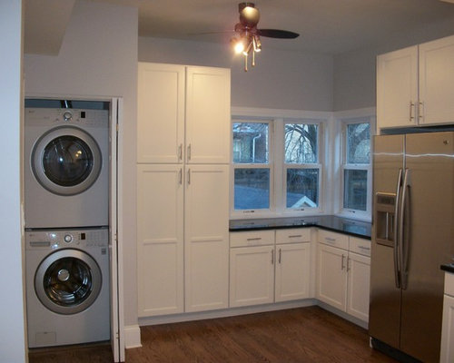 Stacked Washer And Dryer Kitchen Design Ideas Amp Remodel