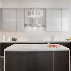 Contemporary Kitchen by Joseph Trojanowski Architect PC