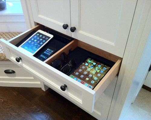 Charging Drawer Design Ideas Amp Remodel Pictures Houzz