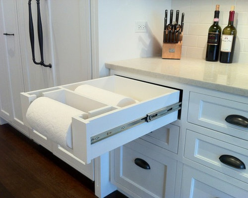 Paper Towel Drawer Ideas Pictures Remodel And Decor
