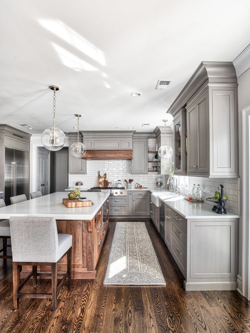 Traditional kitchen designs elegant kitchen photo in new york