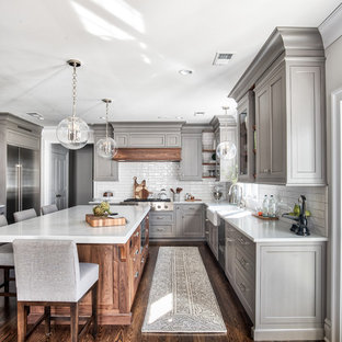 Elegant Kitchen Photo In New York