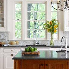 Farmhouse Kitchen by Oak Hill Architects