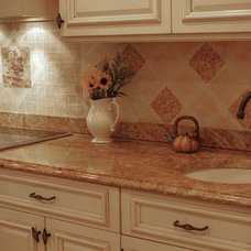 Traditional Kitchen by The Colorful Bee - Linda-Marie Leyble
