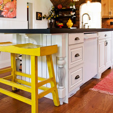 Eclectic Kitchen by Starline Cabinets