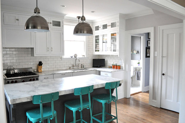 Eclectic Kitchen by KitchenLab | Rebekah Zaveloff Interiors