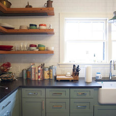Eclectic Kitchen by Allison Landers