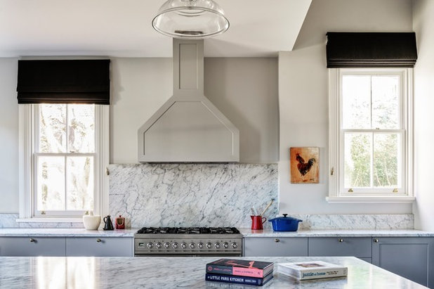 Traditional Kitchen by Michael Bell Architects Pty Ltd
