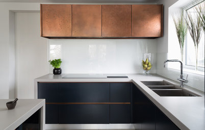 Sing Out! 7 Ways to Bring Metallic Surfaces Into Your Kitchen