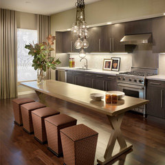 contemporary kitchen by Kenneth Brown Design