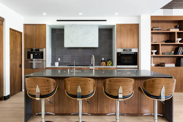 Contemporary Kitchen by Peters Architecture