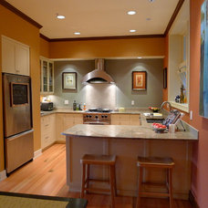Contemporary Kitchen by Paul Johnson Carpentry & Remodeling