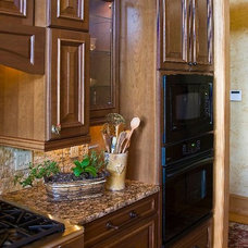 Rustic Kitchen by High Country Cabinets of Banner Elk