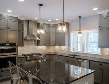 Linwood Industrial-Inspired Kitchen