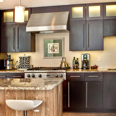 Contemporary Kitchen by Creative Cabinetry Corp