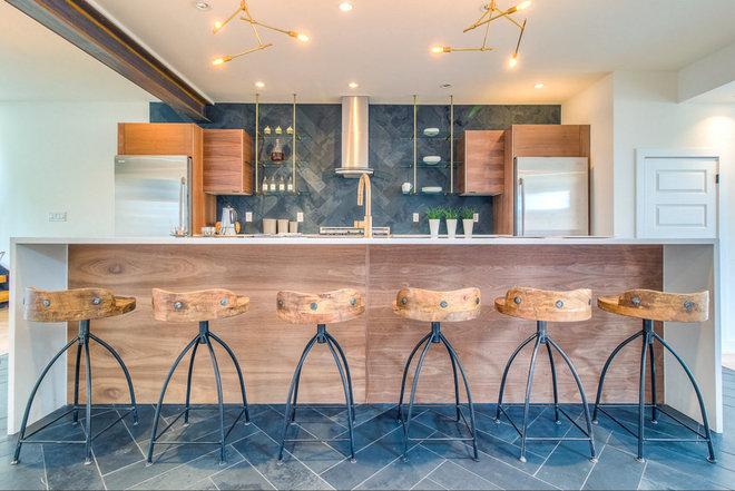 Industrial Kitchen by Work Shop Denver