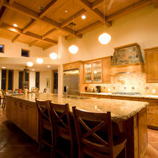 Traditional Kitchen by Wilson Builders LLC