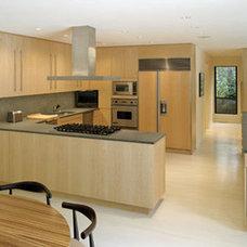 Modern Kitchen by Lisa Dubin Architect