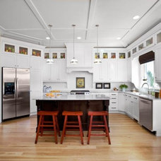 Traditional Kitchen by Workman Flooring