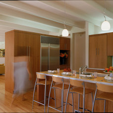 modern kitchen by Lewis / Schoeplein architects