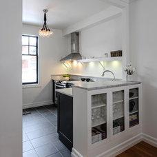 Transitional Kitchen by Moneca Kaiser DESIGN BUILD
