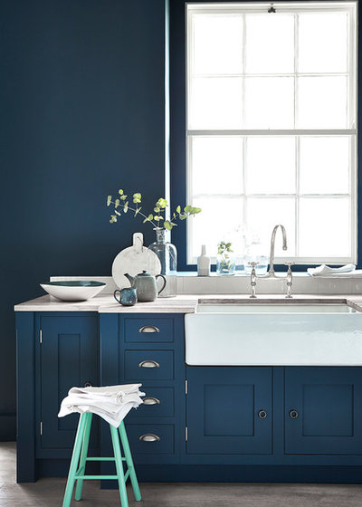 Contemporary Kitchen by The Little Greene Paint Company