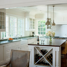 Traditional Kitchen by Patrick Ahearn Architect