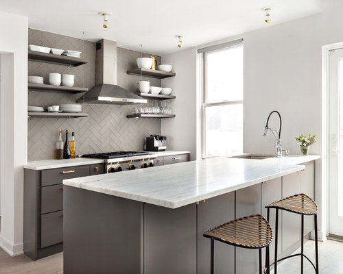 Kitchen design ideas remodel pictures houzz for Houzz small kitchens