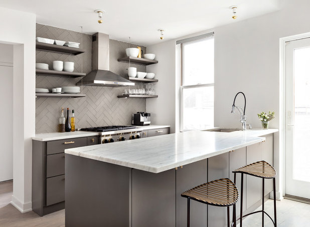 contemporary kitchen by ecostruct llc - Houzz Photos Kitchen