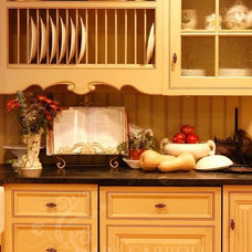 Traditional Kitchen by Little Red House