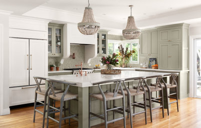 Kitchen of the Week: Earthy Coastal Palette in a New Design