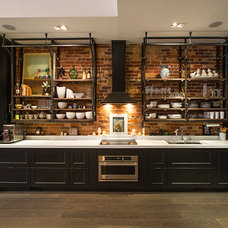 Industrial Kitchen by Amy Dillon (AyA Kitchens & Baths)