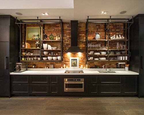Inspiration For An Urban Kitchen In Toronto